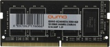 QUMO <QUM4S-4G2400KK16> DDR4 SODIMM 4Gb <PC4-19200> CL16 (for NoteBook)